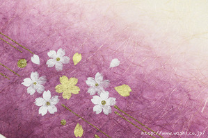 年中通して愛される桜柄(創作和紙)
