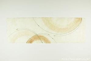 柿渋デザイン創作和紙(11)