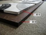 H様マグネット式、漆和紙アートパネル(アップ)