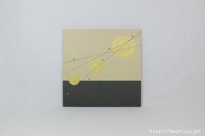 結納品リメイク事例−和室・床の間用の角サイズアートパネル (別パターン)