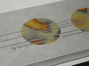 五彩箔(ごさいはく)結納水引飾りリメイクパネル