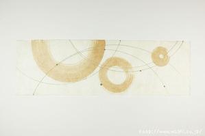 柿渋デザイン創作和紙(7)