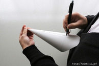 【DIY 和紙照明・あかり】製作型を作る(5:シャープペンシルで線をひく) (2)