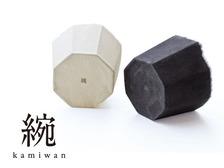 和紙の花器kamiwan