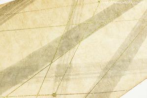 柿渋デザイン創作和紙(2)アップ