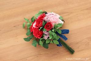 紙婚式オーダーメイドギフトの和紙ブーケ・花束 (2)