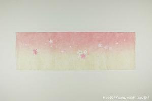 創作デザイン和紙4(花柄)