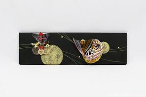 自由自在なスタイルを楽しめる!結納品リメイク・リフォームアートパネル (宝船と鯛)