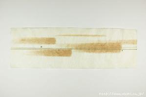 柿渋デザイン創作和紙(4)