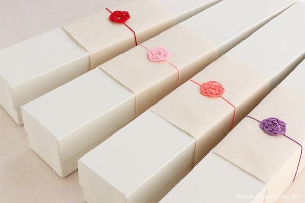 母の日の特別な「和紙製カーネーション」プレゼント・ギフト (ギフトラッピングパッケージ)