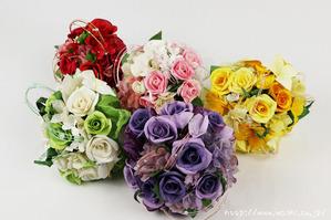 結婚1周年(紙婚式)のプレゼントにオススメの和紙ブーケ・花束5色