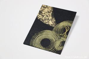 創作デザイン和紙メニューブックカバー (オーダー商品)表面