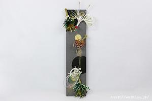 ご祝儀袋、結納品の水引リメイクパネル (鶴、亀、松竹梅)