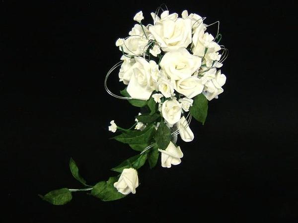 和装にピッタリの和紙製のウェディングブーケ・花束