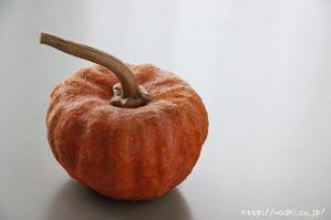 和紙のかぼちゃ(パンプキン)オブジェ