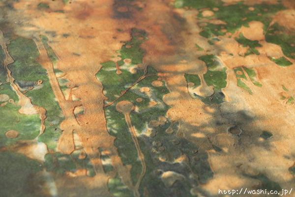 料理が引き立つ店内装飾 珪藻土+和紙「わびさび」アートパネル (デザイン部分)