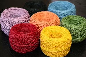 紙糸(単色)和紙の糸