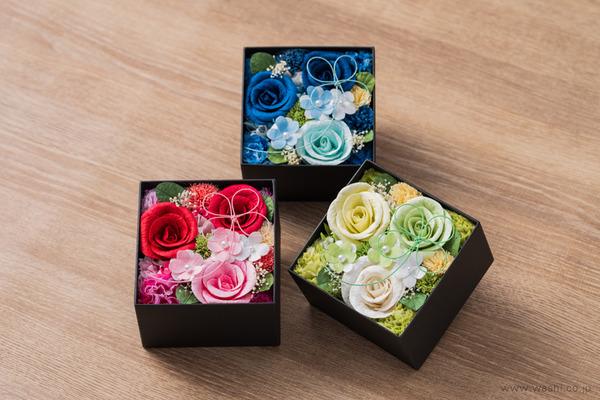 和紙の花‐Washi Flower Box オリジナルフラワーボックス新作・新色入荷