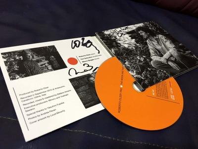 ロベルト・オルサー・トリオのCDにサインをいただきました
