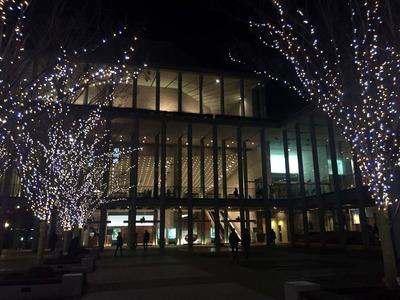 クリスマスジャズコンサートが行われた兵庫県立芸術文化センター