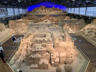 鳥取市にある砂の美術館
