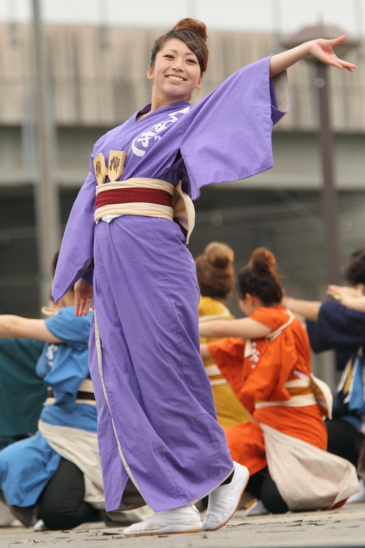 Zipangu YOSAKOI  第8回犬山踊芸祭 岐阜聖徳学園大学 柳コメント