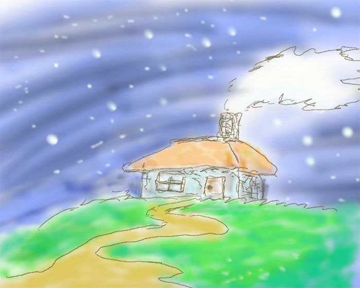 雪降る夜の物語