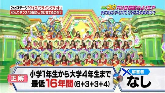 クイズ30渡辺麻友17