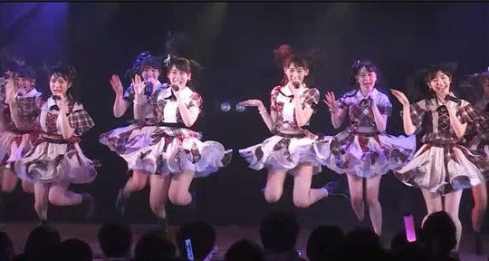 アイドル公演_まゆゆ55