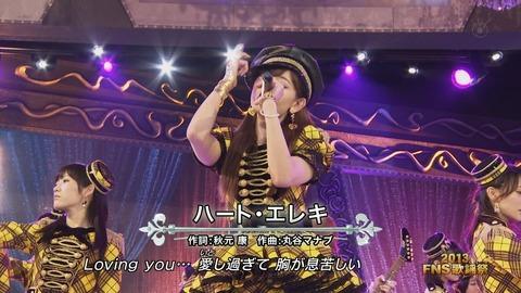 FNS歌謡祭ハートエレキ_2