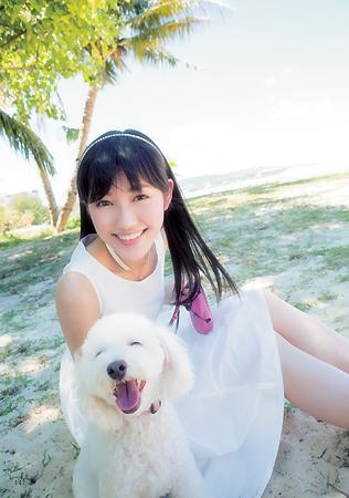 渡辺麻友と犬