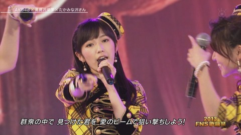 FNS歌謡祭ハートエレキ_6
