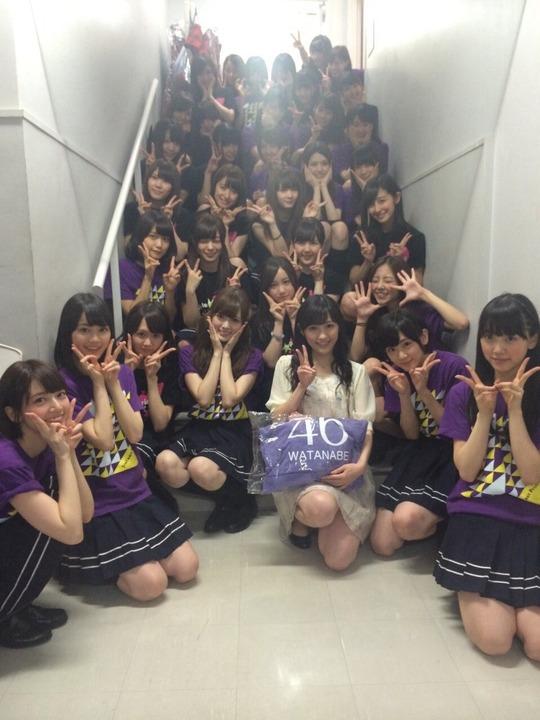 渡辺麻友と乃木坂46