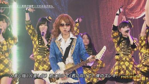 FNS歌謡祭ハートエレキ_4