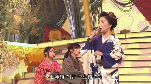 紅白歌合戦での男装した渡辺麻友3