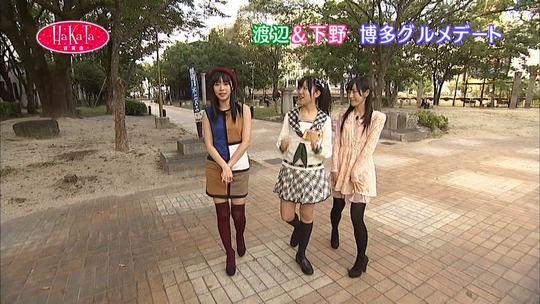 Hakata百貨店の渡辺麻友12