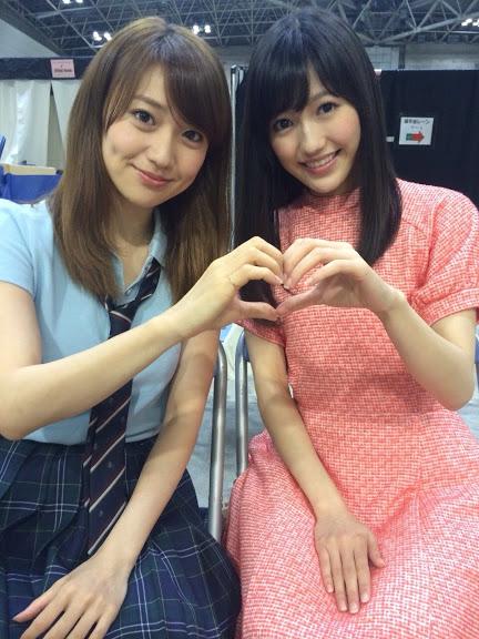 大島優子と渡辺麻友