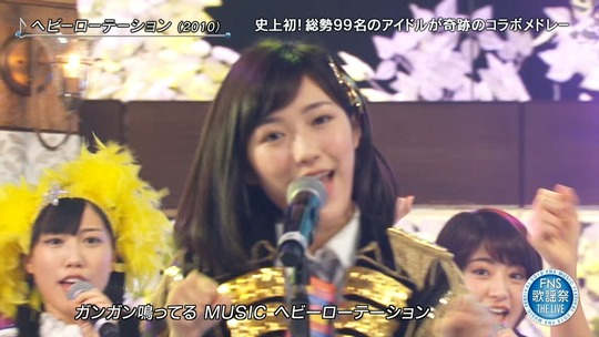 FNS THE LIVE_渡辺麻友1