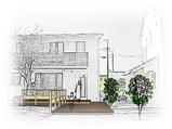 松前の家 Y邸-デッキ計画始動