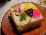 いただき物-久万の押し寿司編