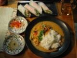 タイ料理に凝ってます。レッドカレー編