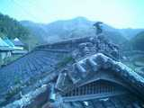 五明の家の佇まい-屋根
