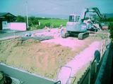 松前の家-基礎工事初日