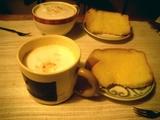 カプチー&シフォンケーキ