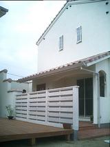 松前の家-O邸 板塀完了