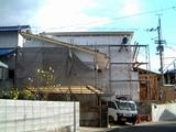 祝谷の家 壁着工