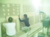 トイレ改装現場-仕上げ開始編