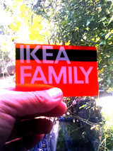 IKEAのカード届く