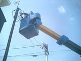 松前の家-O邸 電力引き込み