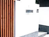 松前の家-Y邸 表札設置